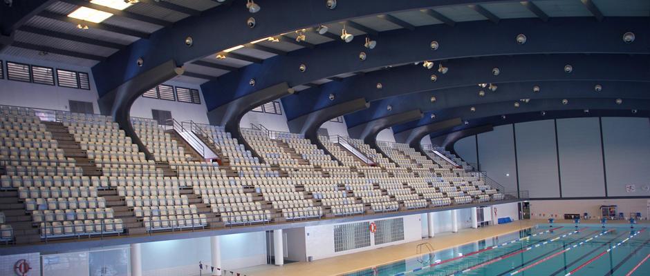 Piscina ol mpica do est dio universit rio de lisboa for Piscina 50 metros barcelona